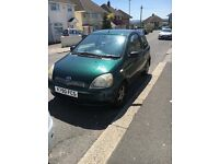 Toyota Yaris -REDUCED TO £350