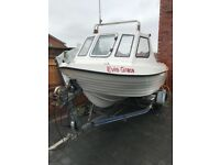 Endeavour 500 fishing boat with 50hp mucury