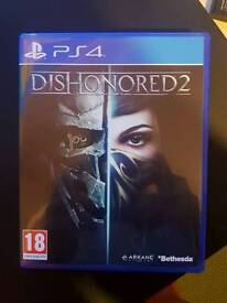 Dishonored 2 PS4 for sale or change