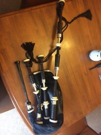 D.Naill dn4a sterling silver bagpipes
