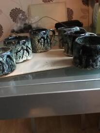 Retro 1970s cups