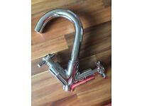 Brand new basin chrome mixer tap