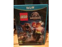 Lego Jurassic World Wii U Game Excellent Condition
