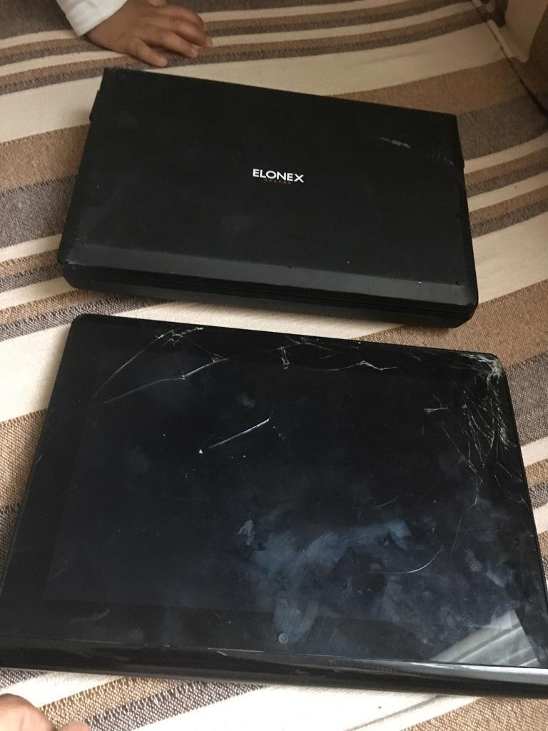 Netbook and tablet - one working one not working