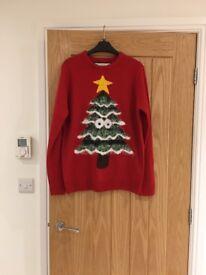Ladies Christmas jumper. Size medium (approx 12)