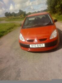 For sale Mitsubishi colt very clean reliable easy on fuel little car