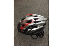 Bicycle Helmet (M-size) with rear LED light