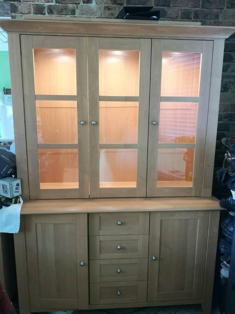 Display Cabinet Welsh Dresser For Dining Room Kitchen Living