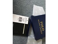 New Ralph Lauren black Pepple credit Cardholder