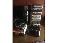 Ps 3 with 20 games and a few blueray movies to clear.