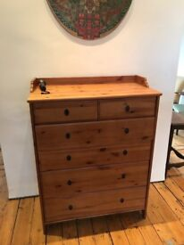 Large chest of drawers (£80) available in claoham