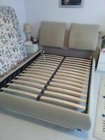 FS: Queen Size Bed Frame w/ Headboard and Mattresses