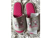 Slippers new with tags