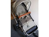 Joolz Day Earth Elephant Grey with lots of accesories and maxi cosi cabrio seat