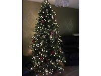 "Pre Lit 6""6 Christmas Tree"