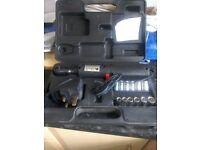 Cordless electric socket set