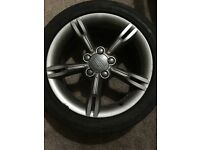 Seat Leon MK2 Fr 17 inch, 5 alloys with tyres