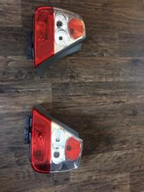 Honda Civic type r ep3 rear lights