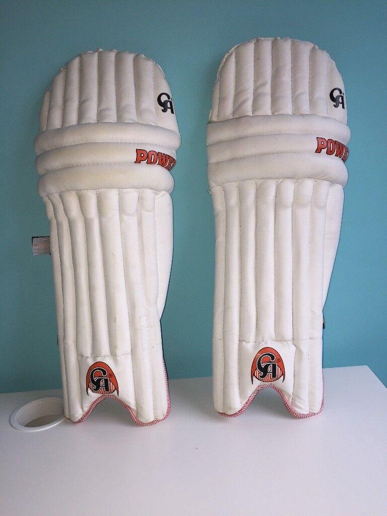 CA cricket bat size 6 and CA cricket pads juniors ( brand new).