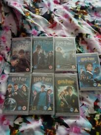 Psp films all 7 Harry potter 6 of them sealed