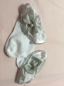 Beautiful girls frilly socks