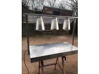 Parry 3x heat lamp gantry