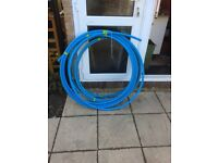 MDPE BLUE WATER PIPE 25mm and 20mm