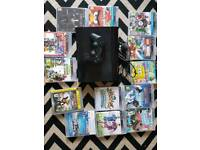 PS3 with 13 games and 1 controller