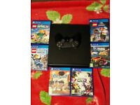 PS4 slim 1tb and games for kids