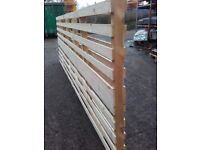 Ranch style fence panel/pallets ideal for paddock allotmen and garden fencing