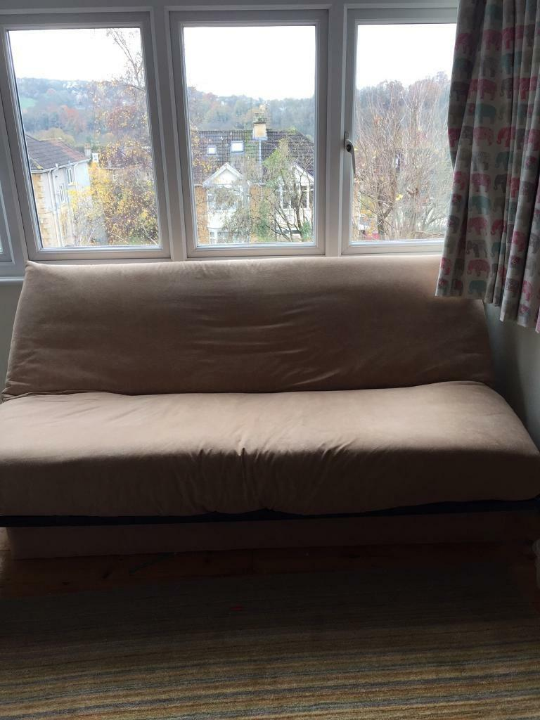 Very confortable sofa bed with large under storage