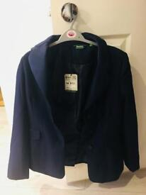 Navy Blue Requisite Show Jacket