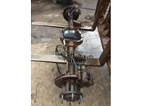 FORD TRANSIT MK7/MK8 AXLES,5 AND 6 STUDS. ALL RATIOS