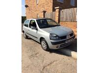 2003 Renault Clio 1.2 Petrol 9 Months Mot Low Miles All Papers New Tyres Great Condition Car r