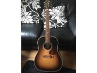 GIBSON J45 Custom Acoustic Guitar (J-45). Swap for Martin D28 (D-28).