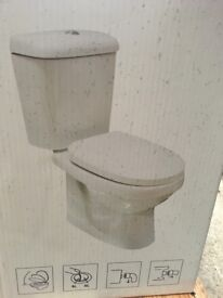 TOILET PAN AND CISTERN