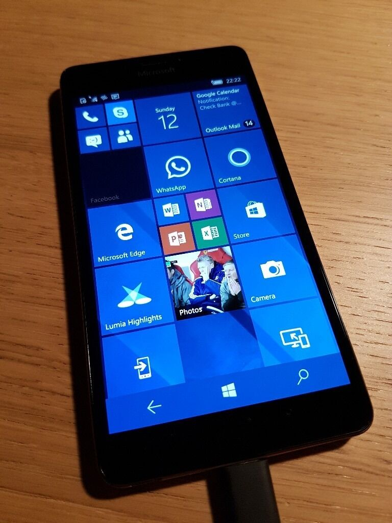 "Microsoft Lumia 950 with Microsoft Display Dockin South Shields, Tyne and WearGumtree - Windows 10 5.2"" Quad HD Screen 32GB Storage, expandable to 200GB with MicroSD USB C Fast Charging 3000mAh replaceable battery With Microsoft Display Dock Mozo red genuine leather back cover Excellent all round condition. Includes USB C fast charger..."
