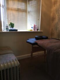 Various types of massage by a qualified male massage therapist
