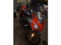 2010 standard aprilia rs50 new shape