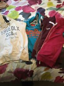 Superdry and soul cal hoodies