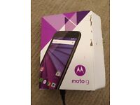 Motorola Moto G (3rd gen.) 8gb- NEW in box inc cable & instructions