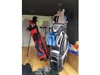 Ram golf bag and trolly also Donny golf bag and trolly