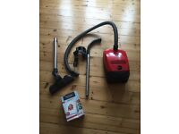 Miele S2110 Cylinder Vacuum Cleaner in Chilli Red