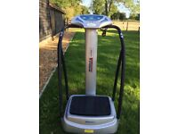Medicarn-Vibration-Plate The Medicarn Series 300 power plate comes pre-loaded with 8 exercise modes.