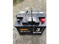 Halfords Car Battery 12v 56amp brand-new