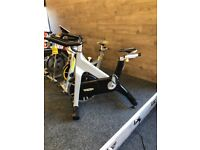 TECHNOGYM GROUP CYCYLES WITH MONITOR FORSALE