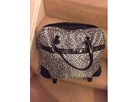 Leopard print holdall - only used once