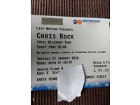 2x Chris Rock Tickets -Nottingham