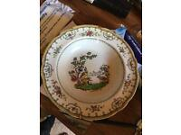 Beautiful china plates