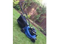 Challenge extreme petrol lawnmower.